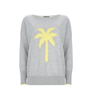 John Lewis Palm Tree knit Top